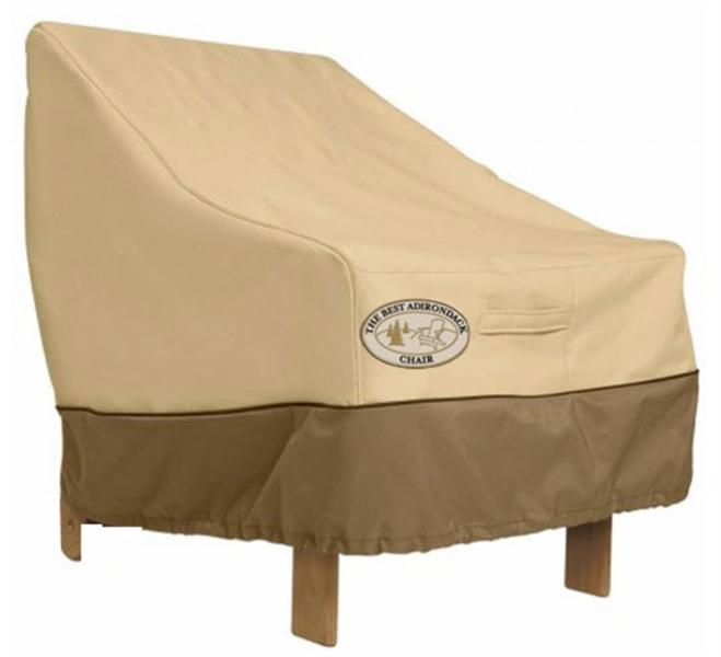 Housse de protection chaise adirondack achat vente de for Housse de chaise plastique