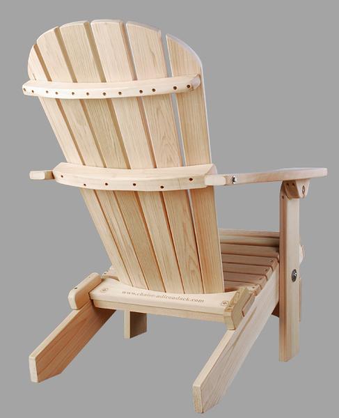 Classique en c dre rouge achat vente de chaises - Chaise adirondack france ...