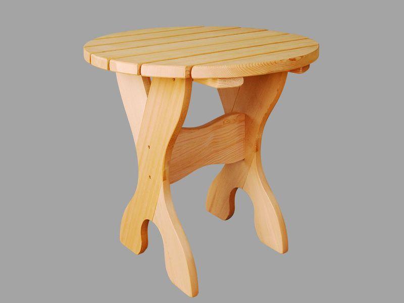 table caf fabriqu e en c dre rouge de l ouest table ronde adirondack naturel diam tre 660 mm. Black Bedroom Furniture Sets. Home Design Ideas