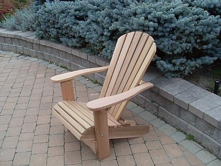 Chaise adirondack chaises pliables en c dre rouge - Chaise adirondack france ...