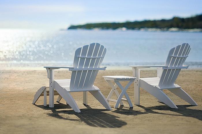 Table coloris au choix achat vente de chaises adirondack en c dre rouge chaise teint e - Chaise adirondack france ...