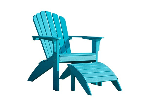 repose pieds ottoman coloris au choix achat vente de chaises adirondack en c dre rouge. Black Bedroom Furniture Sets. Home Design Ideas