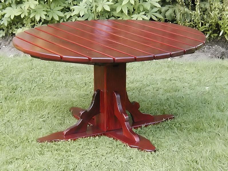 table adirondack picnic acajou achat vente de chaises adirondack en c dre rouge tables. Black Bedroom Furniture Sets. Home Design Ideas