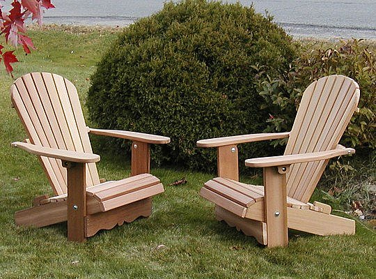 Pair of royal adirondack chairs achat vente de for Adirondack chaise