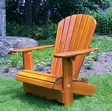 The adirondack chairs for Chaise adirondack canadian tire