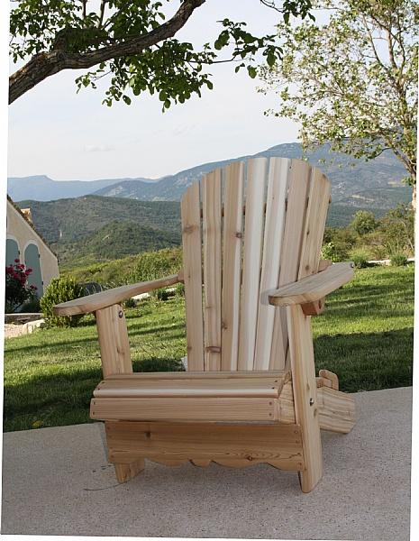 Adirondack chair royal rustic achat vente de adirondack - Chaise adirondack france ...
