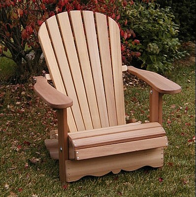 Adirondack Chairs : Made With Red Cedar