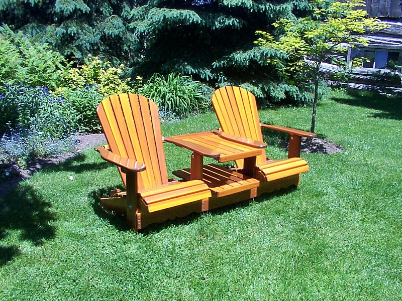Adirondack Chairs Made With Red Cedar