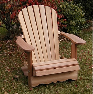 adirondack chair flexible chairs in red cedar distributor for france and europe. Black Bedroom Furniture Sets. Home Design Ideas